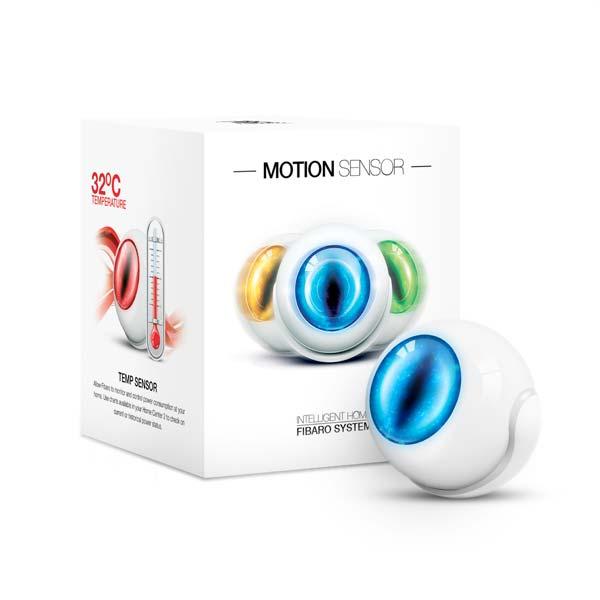 سنسور هوشمند 4 کاره تشخیص حرکت, دما, ضربه و شدت روشنایی